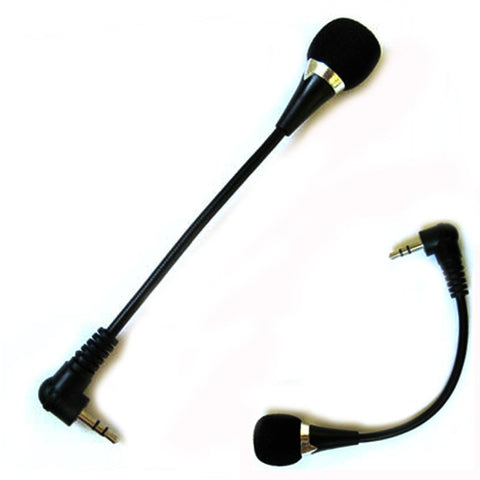 New Mini 3.5mm Jack Flexible Microphone Mic For PC Laptop Notebook