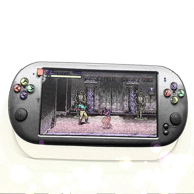 Newest 7 Inch Game Console Portable support for neogeo arcade video games with 1500 free retro