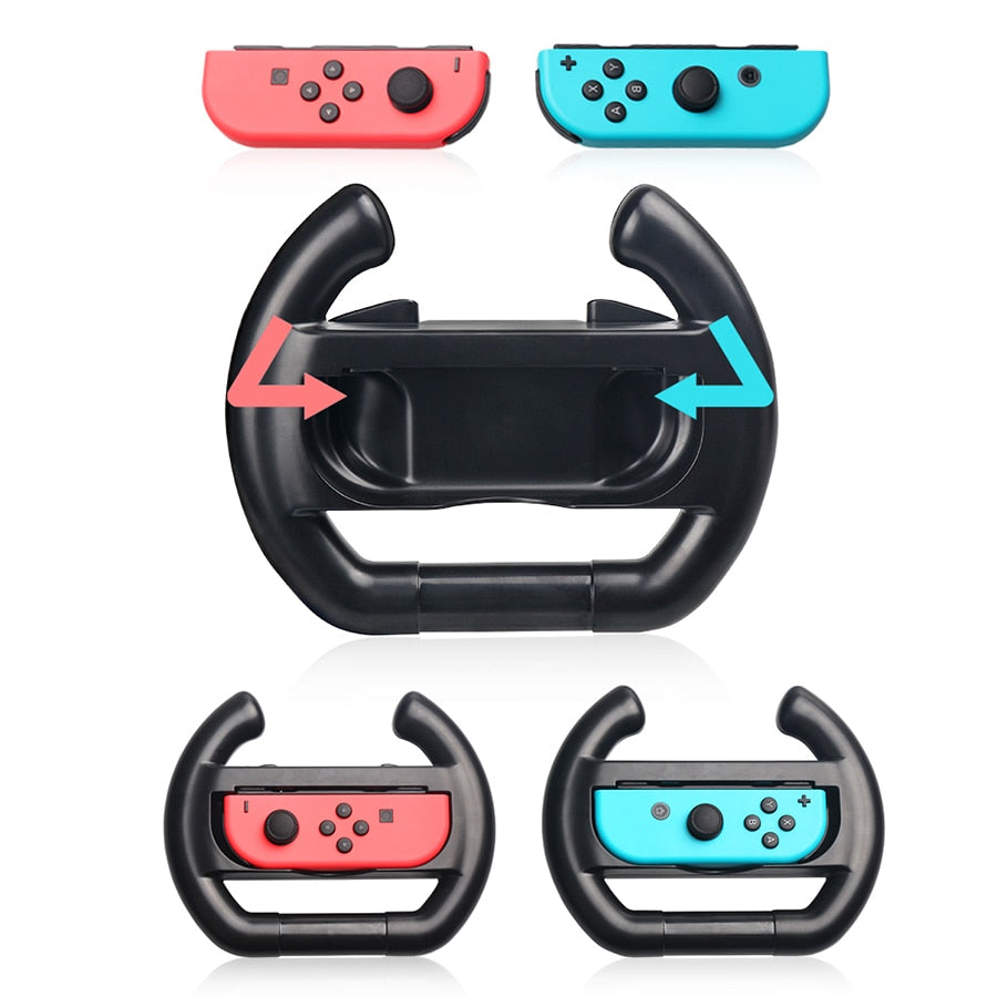 Nintend Switch NS Joy-con Steering Wheel Handle Grip Protective Holder for Nintendo Switch NS