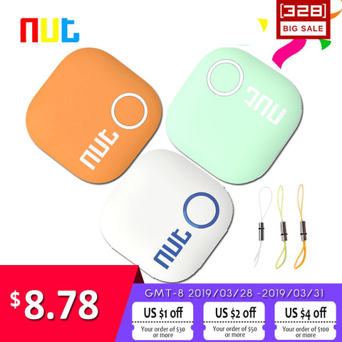 Nut 2 Smart Tag Bluetooth Tracker Anti-lost Pet Key Finder Alarm Locator Valuables as Gift For Child