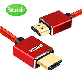 Nylon Braid HDMI Cable HDMI Cable 4k 1080P 3D for HDTV PS4 Xbox Projector Laptop Computer