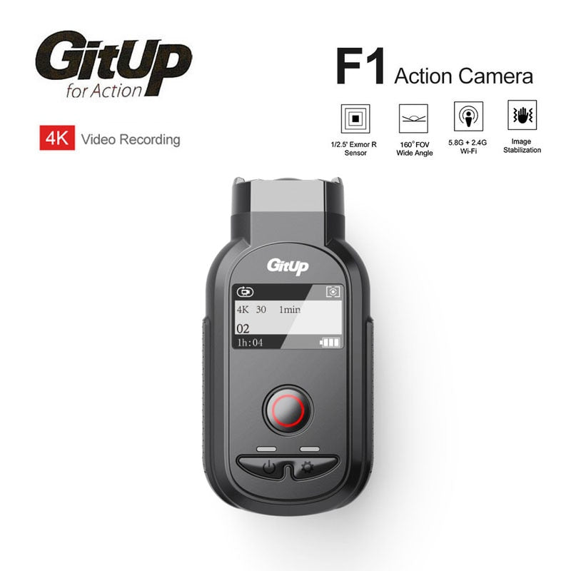 Original GitUp F1 WiFi Ultra Real 4K WIFI Action Sports Camera 8MP Camcorder Video Recorder DVR