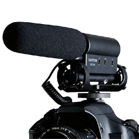 Original Takstar SGC-598 Photography Interview Microphone for Youtube Vlogging Video Shotgun MIC for