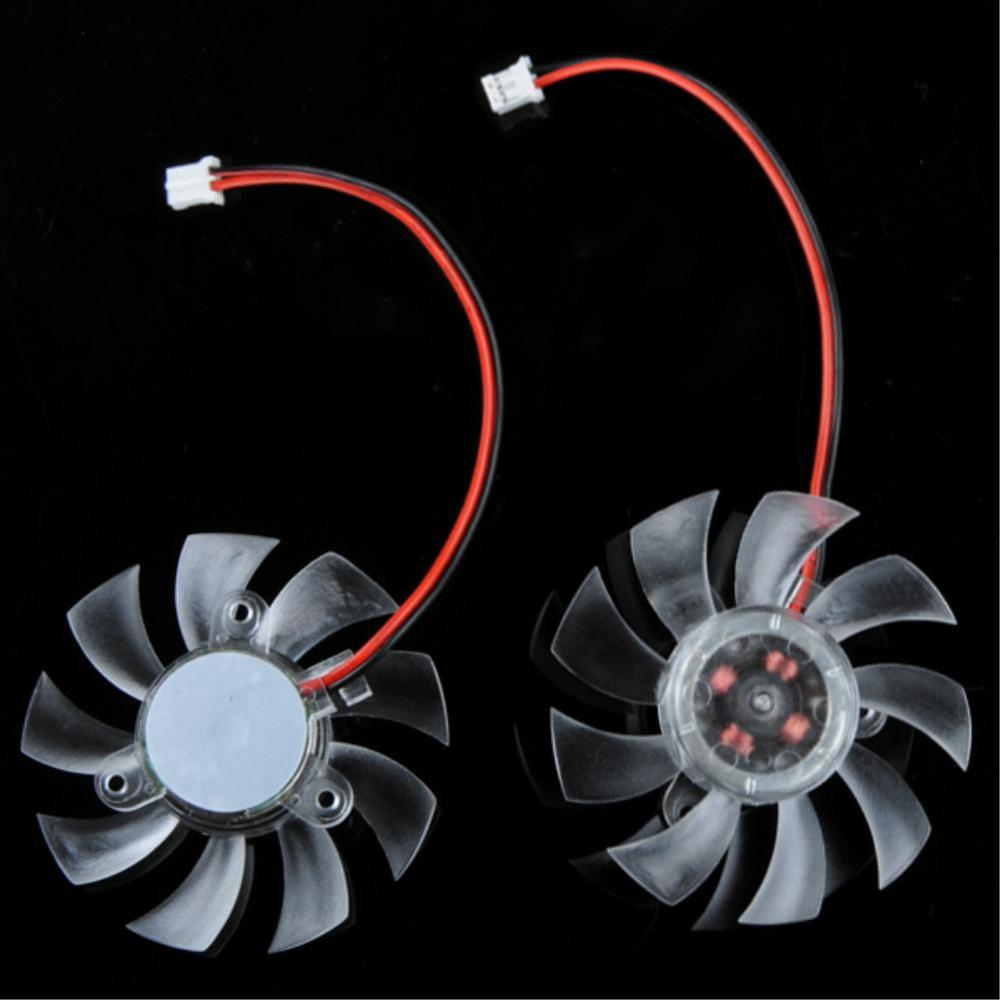 PC Computer VGA Cooling Fan Replacement 55 mm 2 Pin Fan For Computer VGA Cooling Video Card Heatsink