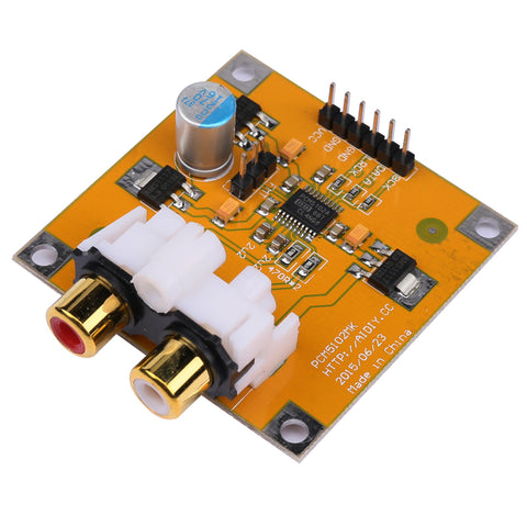 PCM5102/PCM5102A DAC Decoder Board I2S 32Bit 384K For Raspberry Pi Red Core Player