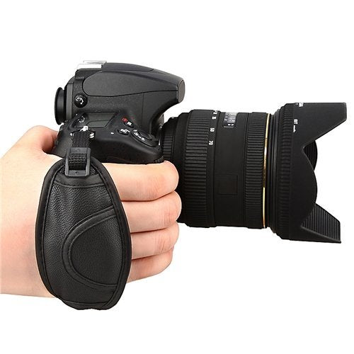 PU Hand Grip 100% GUARANTEE New Camera Hand Strap Grip for Canon EOS 5D Mark II 650D 550D 450D