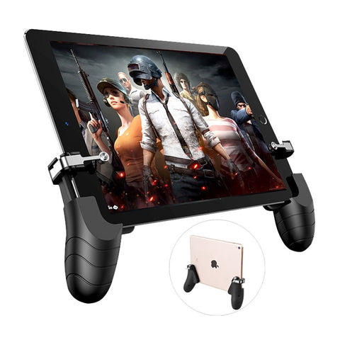 PUBG Mobie Controller Gamepad for iPad Tablet Trigger Fire Button Aim Key Mobile Games Grip Handle