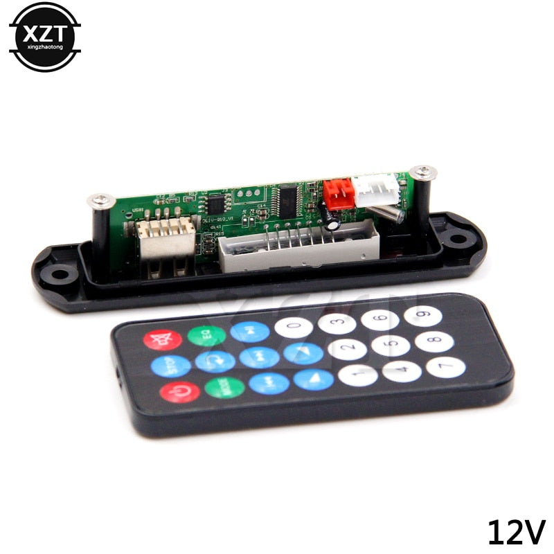 PZ 1PCS DC Micro USB Power MP3 Decoder Board Supply TF Radio 5V Audio Module new for Car Music