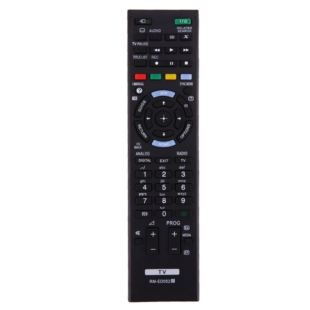 RF Remote Control Replacement for SONY TV RM-ED050 RM-ED052 RM-ED053 RM-ED060 RM-ED046 RM-ED044