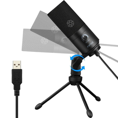 Recording Microphone USB Socket suit for Computer Windows MacBook High Sensitivity for Instrument