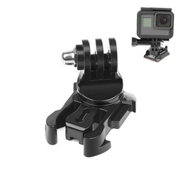 SHOOT 360 Degree Rotate Quick Release Buckle Vertical Surface Mount for GoPro Hero 7 6 5 4 Sjcam