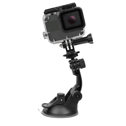 SHOOT Mini Action Camera Suction Cup for GoPro Hero 7 5 6 4 Sony SJCAM SJ7 Yi 4K H9 Go Pro 7 Mount
