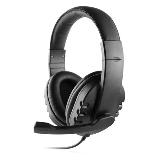 SOONHUA 3.5mm Wired Gaming Headset Deep Bass Game Earphone Professional Computer Gamer Headphone