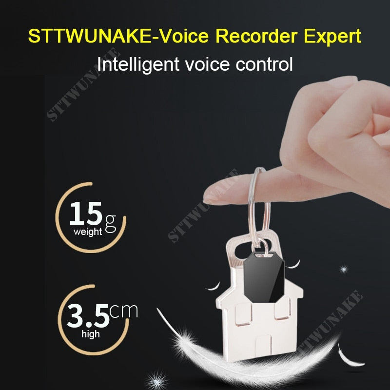 STTWUNAKE professional Digital HD Mini hidden Voice Recorder Audio Recorder Dictaphone denoise