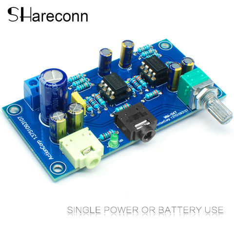 Shareconn HIFI 47 earphone amplifier 2 channel headphone amplifier 47 amplifier dc single power
