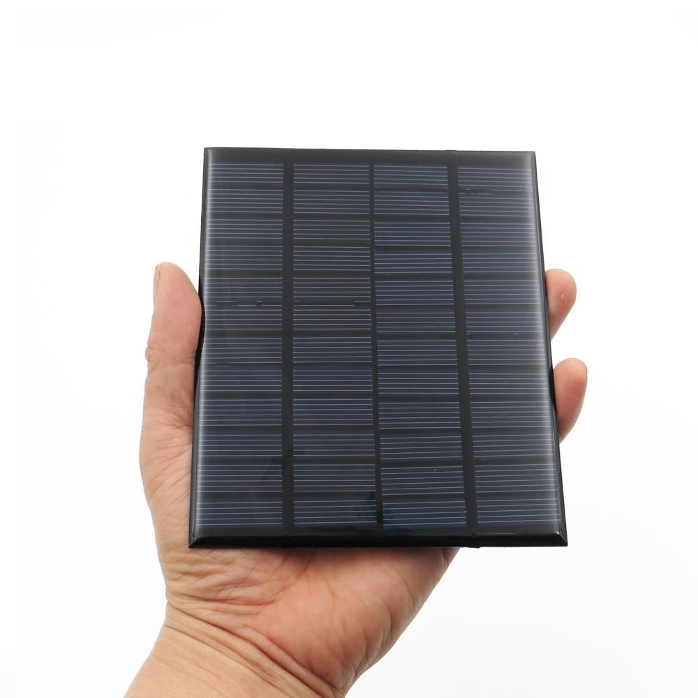 Solar Panel 12V 18V Mini Solar System DIY For Battery Cell Phone Chargers Portable 1.8W 1.92W 2W