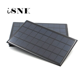 Solar Panel 6V 9V 18V Mini Solar System DIY For Battery Cell Phone Chargers Portable 2W 3W 4.5W 6W