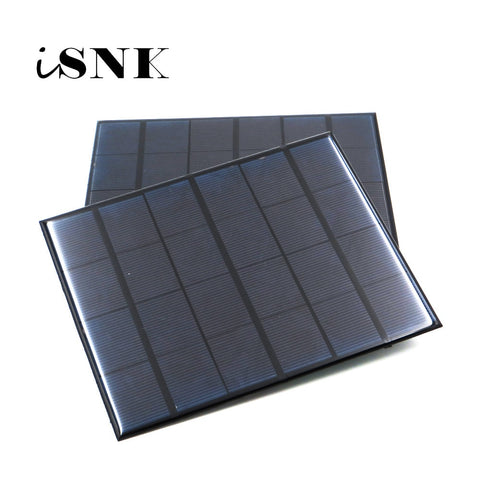 Solar Panel 6V Mini Solar System DIY For Battery Cell Phone Chargers Portable 0.6W 1W 1.1W 2W 3W
