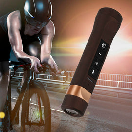 Sport Bicycle Portable Speaker Bluetooth Outdoor Speakers Bluetooth Power Bank Wireless Speaker