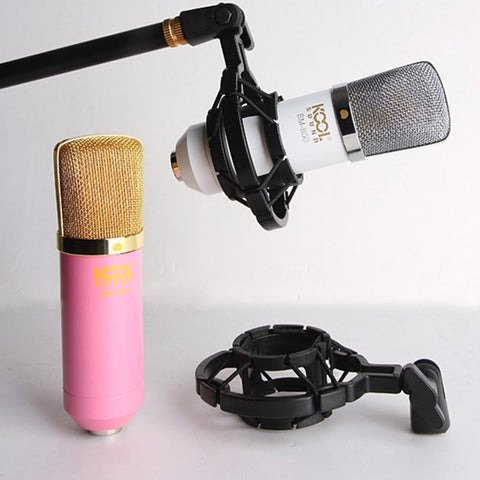 Studio Universal Plastic Microphone Shock Mount Mic Stand For Recording Microphones Condenser Holder