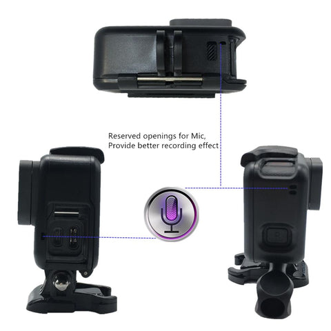 Suptig For GoPro Accessories Protective Frame Case Camcorder Housing Case