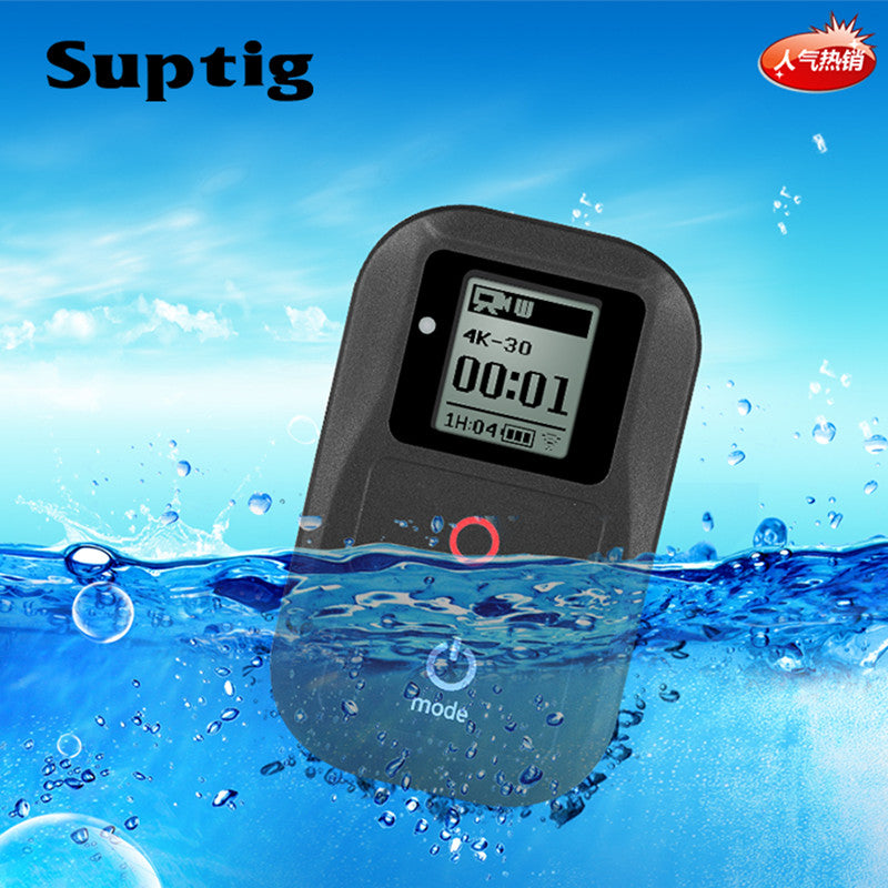 Suptig Waterproof WIFI Remote Control For Gopro Hero 6 Hero 5 4 3+ 3 / 4 Session 5 Session Camera