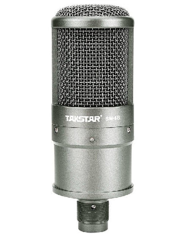 TAKSTAR SM-8B-S Condenser Microphone Broadcasting And Recording Microphone Radio Braodcasting