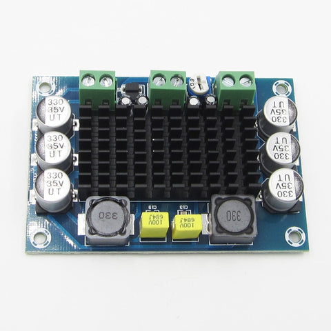 TPA3116D2 Board DC 12-26V 100W TPA3116DA Mono Channel Digital Power Audio Amplifier XH-M542