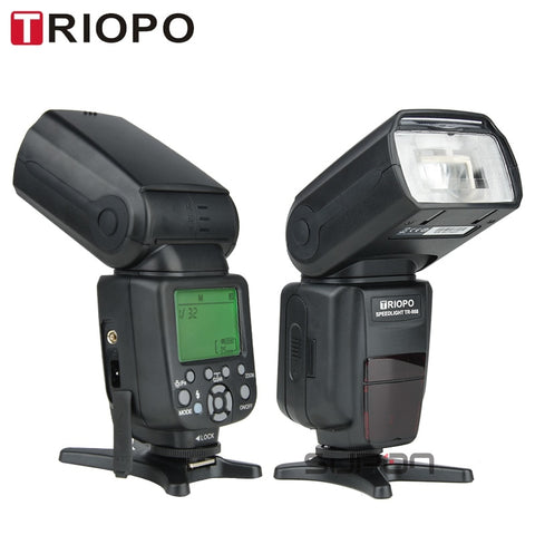 TRIOPO TR-988 Flash Professional Speedlite TTL Camera Flash with High Speed Sync for Canon and Nikon