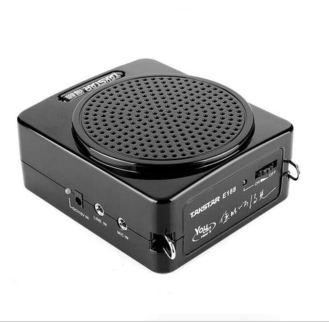 Takstar E188 10w loud speaker lithium battery MINI Portable Digital Amplifier for Tour guide Sales