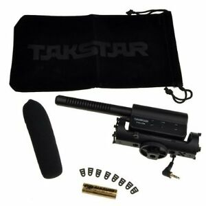 Takstar VideoMic Directional Video Condenser Microphone w/Moun for canon nikon SGC-598 camera is Not