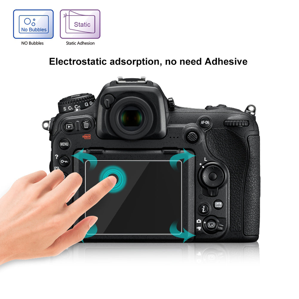 Tempered Optical Glass HD LCD Ultra-thin 9H Camera Screen Protector Protection Film For Nikon
