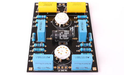Classic Circuit Tube Preamplifier Preamp Board DIY Kits For 12AX7 / 12AU7 Tube