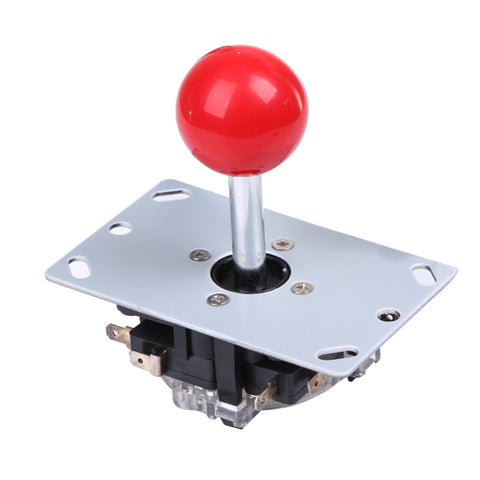 Top Classic 4/8 way Arcade Game Joystick Ball Joy Stick Red Ball Replacement Uses For 4