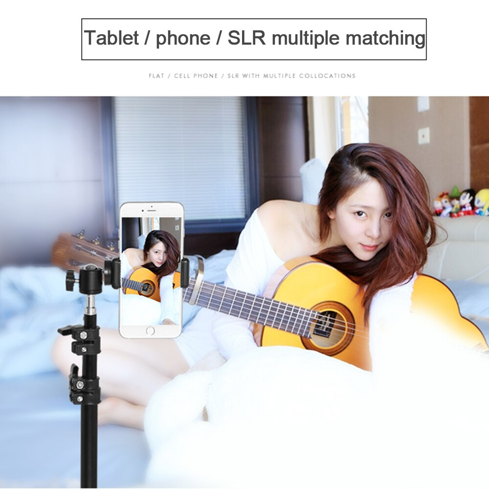 Tripod for Phone Camera for Outdoor Activities with Tripod Bag Storage Mobile Phone Live Bracket