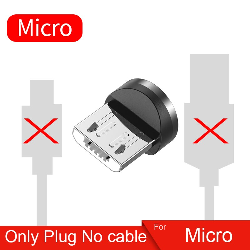 Twitch 2m Magnetic Micro USB Cable For iPhone Samsung Android Mobile Phone Fast Charging USB Type