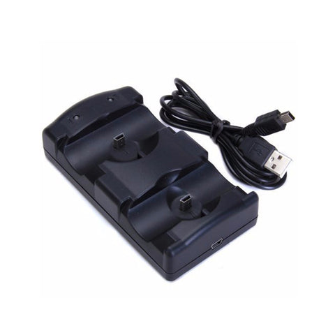USB Dual Charging Powered Dock Charger For Sony PlayStation 3 Controller Joystick For Sony PS3