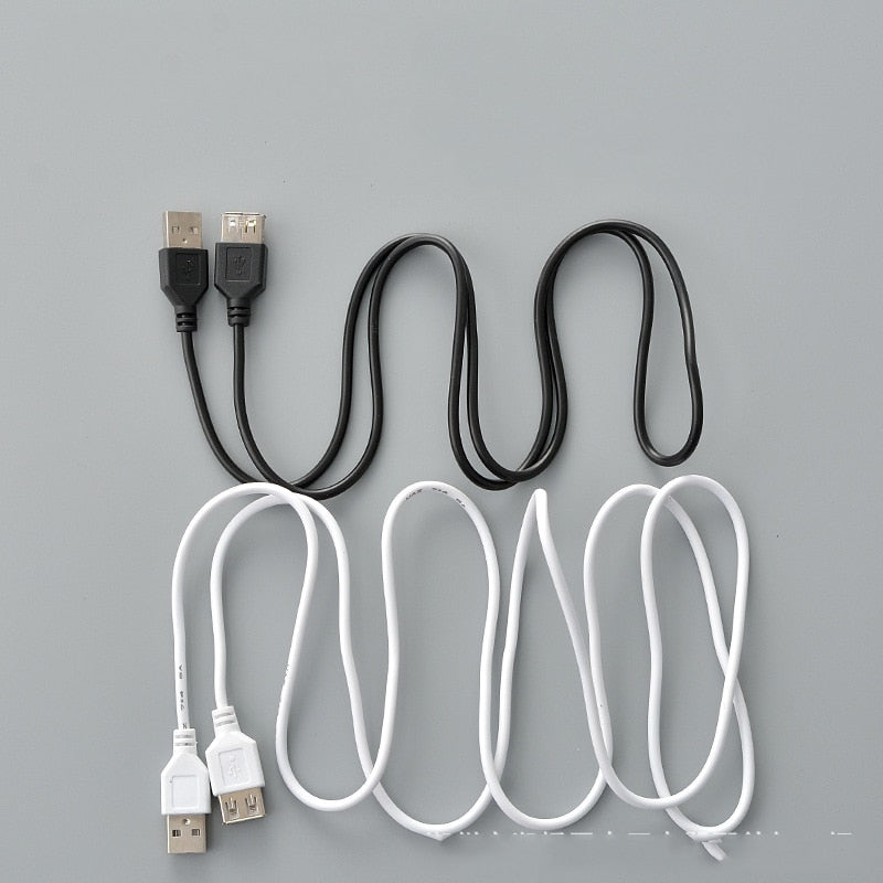 USB Extension Cable Super Speed USB 2.0 Cable Male to Female 1m Data Sync USB 2.0 Extender Cord