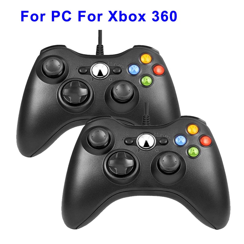USB Wired Vibration Gamepad Joystick For PC Controller
