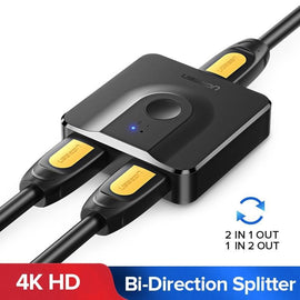 Ugreen HDMI Splitter 4K HDMI Switch 1x2/2x1 Adapter HDMI Switcher 2 in 1 out