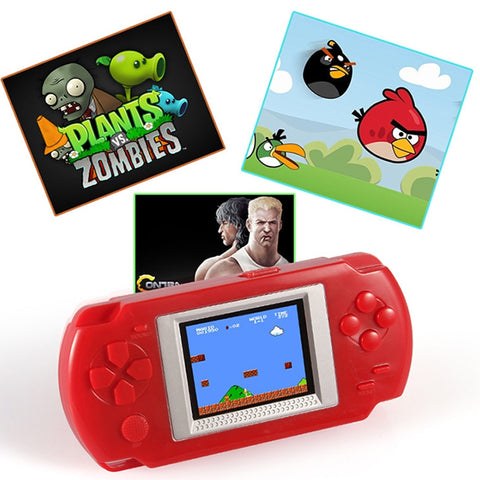 Ultra-Thin Portable 2.0'' Color screen Video Games Consoles 268-in-1 Classic Games Handheld Game