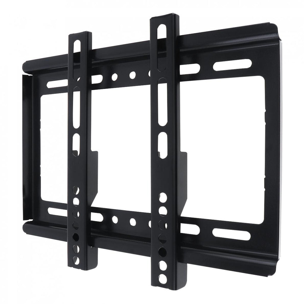 Universal 25KG TV Wall Mount Bracket Flat Panel TV Frame Mounts with Gradienter for 14 - 42 Inch LCD