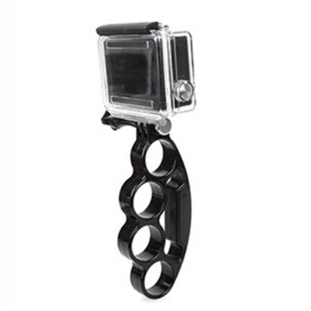 Universal Action Camera Accessories Handheld Knuckles Finger Grip Mount Monopod Tripod Handle Holder
