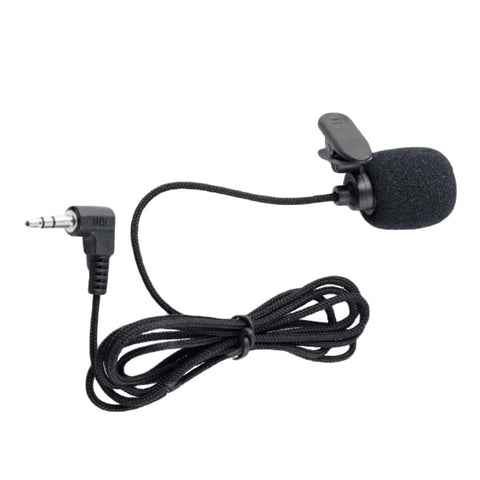 Universal Portable 3.5mm Mini Headset Microphone Lapel Lavalier Clip Microphone for Lecture Teaching