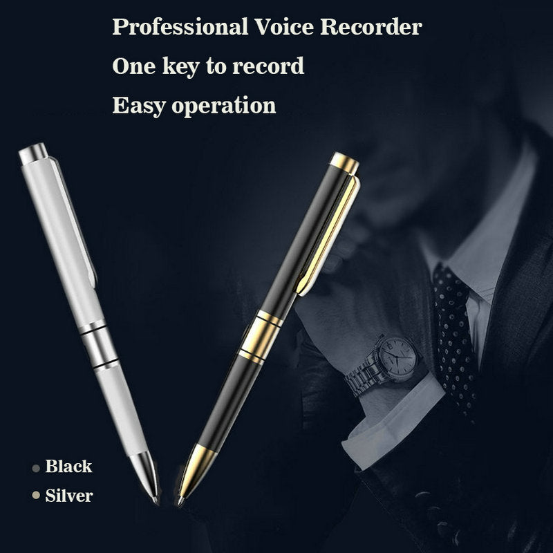 Professional Voice Recorder Pen Portable HD Recording Audio Recorder Noise Reduction