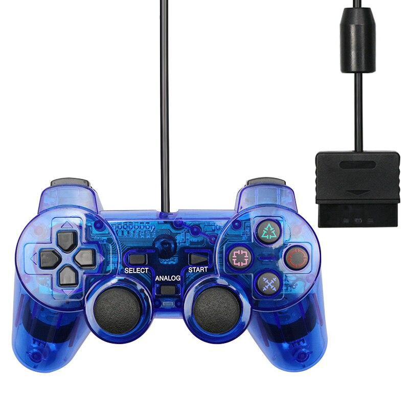 Wired Gamepad for Sony PS2 Controller for Mando PS2/PS2 Joystick for Playstation 2