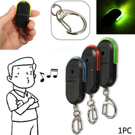 Wireless Anti-Lost Alarm Key Finder Locator Keychain  Sound With LED Light Mini Anti Lost Key Finder