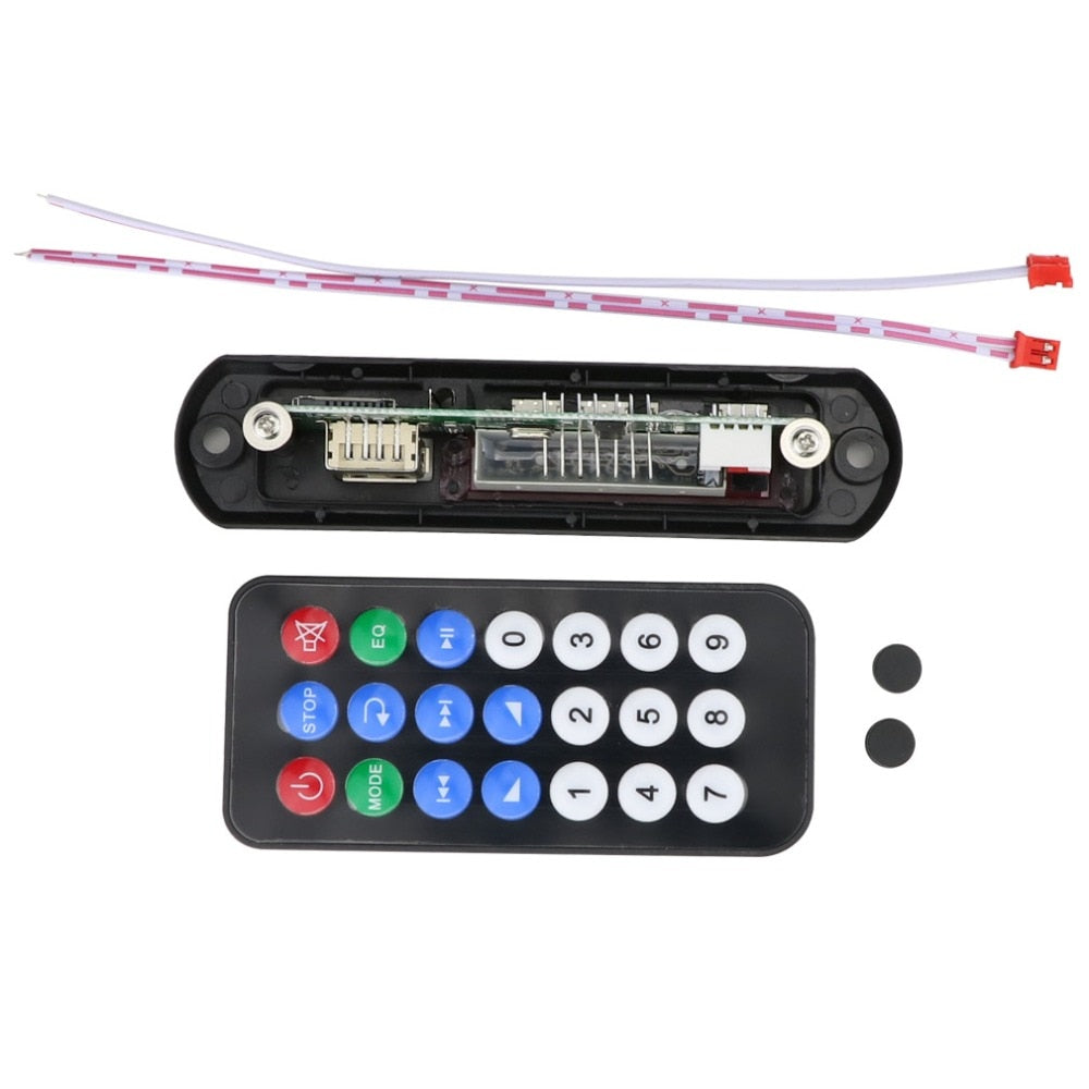 Wireless Bluetooth 12V MP3 WMA Decoder Board Audio Module USB TF Radio for Car Bluetooth Audio
