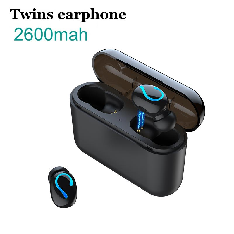 Wireless Bluetooth 5.0 Earphones TWS handsfree headphones Sports Music Earbuds gaming headsets Power