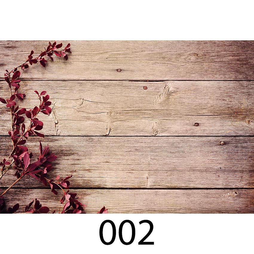 Wood Floor Photography Backdrops Newborns Photo Background Baby Flower Backdrop for Photo Booth